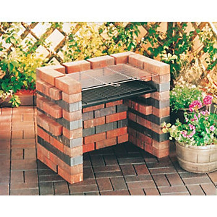 Special Offer! Landmann Do It Yourself Charcoal BBQ - Brick