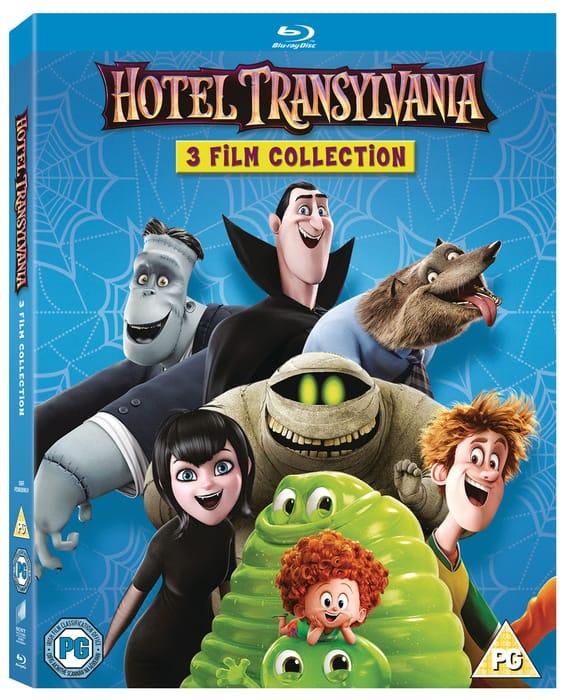 Hotel Transylvania: 3-Film Collection (Box Set) [Blu-Ray