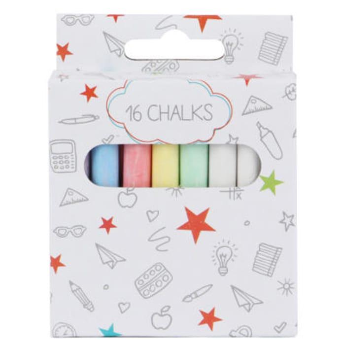 ASDA Coloured Chalk Pack