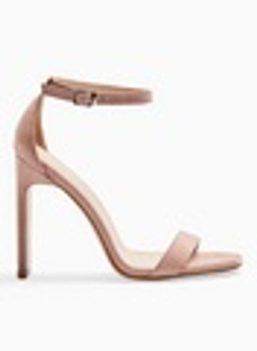 Cheap SALLIE Nude Barely There Heel Sandals - Only £10!