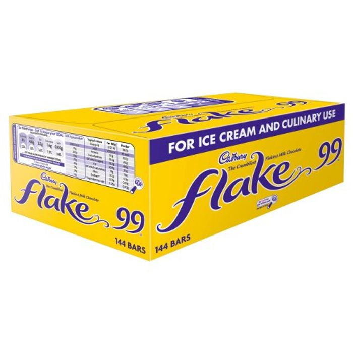 Cadbury Flake 99 Single Bar (Pack of 144)
