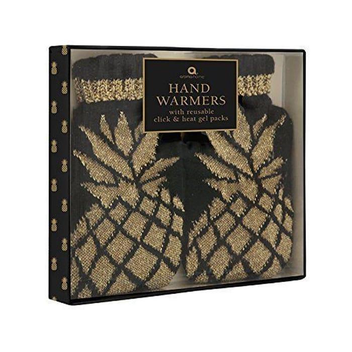 Aroma Home Pineapple Range Knitted Hand Warmers W