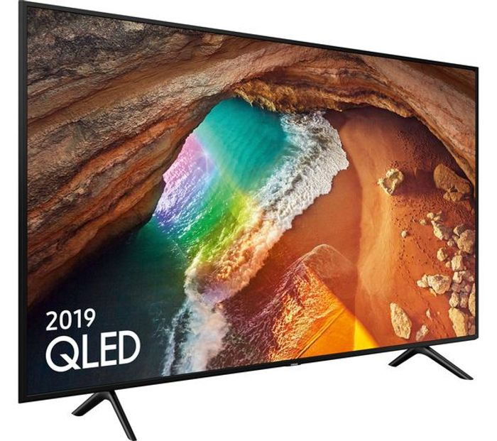 Best Price! Samsung 55 Inch, QLED 4K Ultra HD Certified HDR 1000 Smart Q60 TV