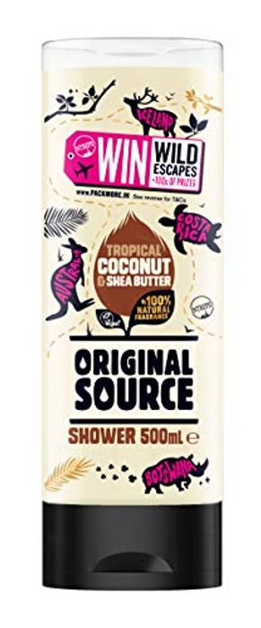 Best Price! Original Source Coconut & Shea Butter Shower 500ml (Pack of 6)