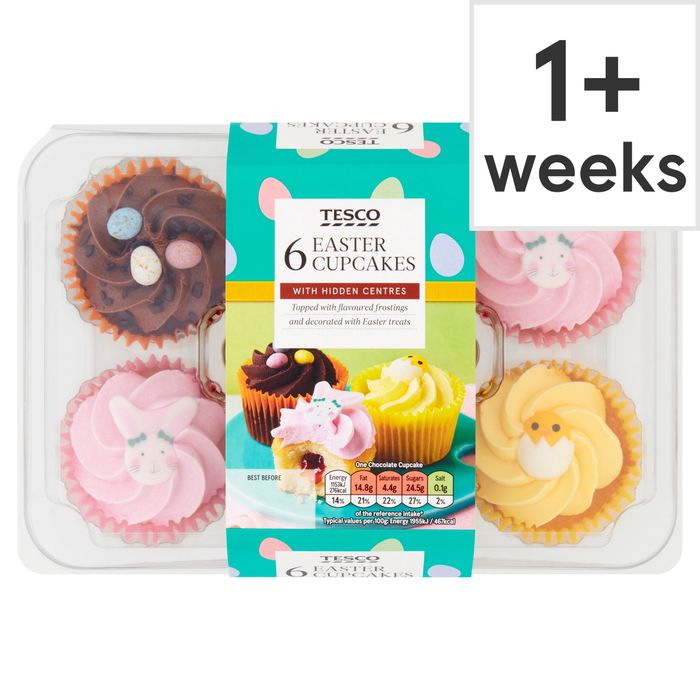 Tesco Easter Cupcakes 6 Pack