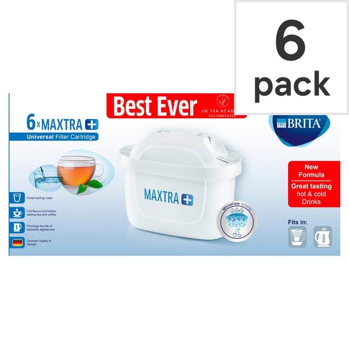 Best Price! Brita Maxtra+ Pack of 6 Filter Cartridges 17%off Tesco