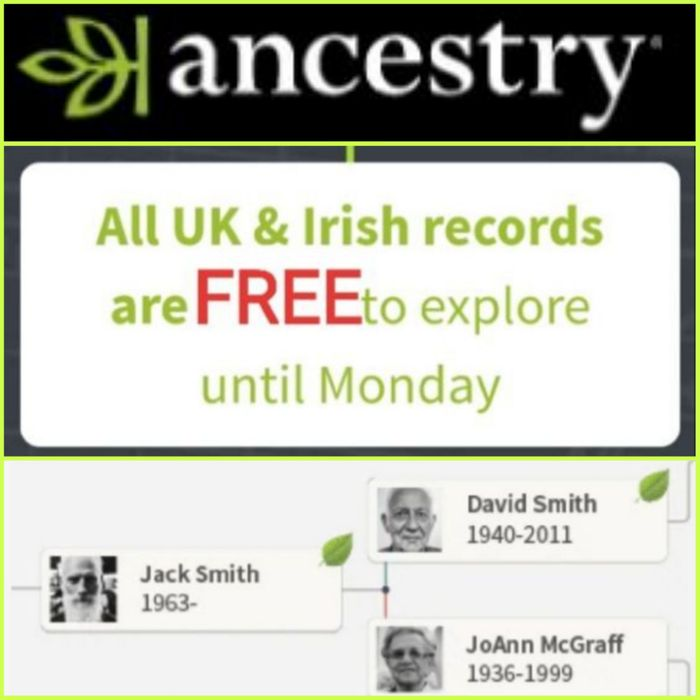 What Will You Discover in Your FAMILY TREE? Free to Explore until Monday...