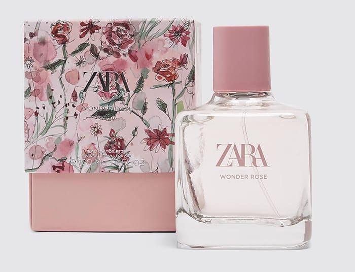 Zara WONDER ROSE 100ML / 3.38 OZ - LIMITED EDITION