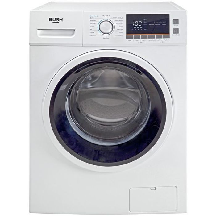 Bush WMNBX1016W 10KG 1600 Spin Washing Machine - White881/5558
