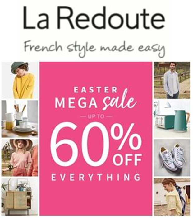 LaRedoute SALE - up to 60% off EVERYTHING (including TRAINERS!)