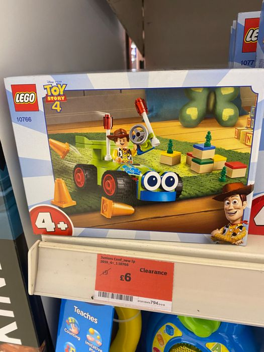 Toy Story 4 Lego - Woody Racing