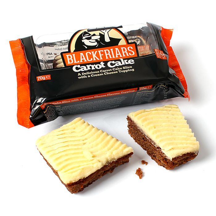 FREE Carrot Cake When You Spend £20 or More