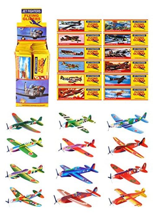 12 X Flying Glider Planes