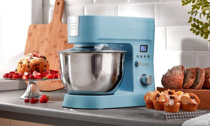 Cooks Professional 1200W Retro-Style Digital Stand Mixer