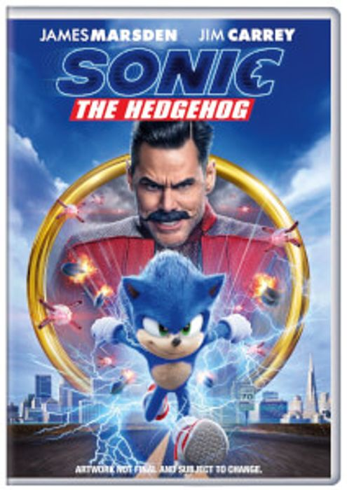 Special Offer! Sonic the Hedgehog DVD