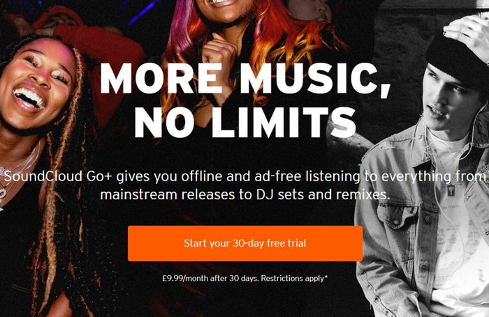 Get Your SoundCloud 1 Month Free Trial