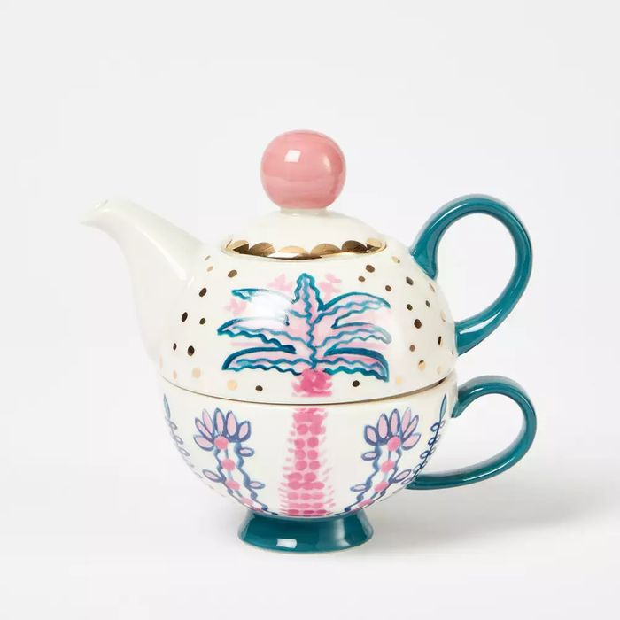 Lucy Tiffney Multicoloured Printed Tea for One Set - save £6