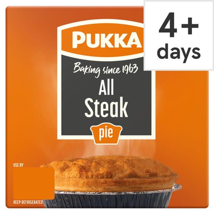 Pukka All Steak Pie for £1