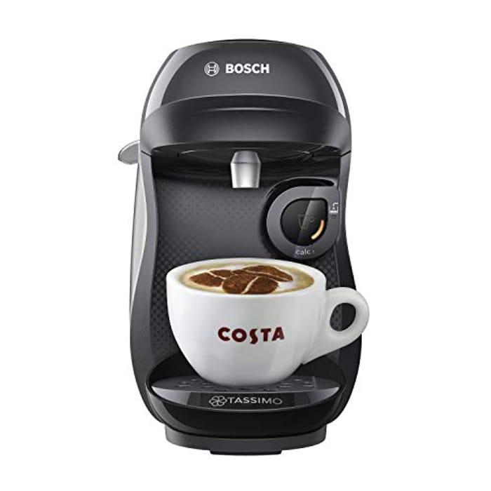 Tassimo Bosch Coffee Machine 1300 Watt 0.7 Litres - Black