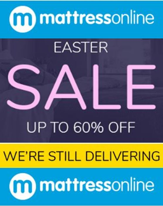 Special Offer - Get Your New MATTRESS for a Lot Less! up to 60% off