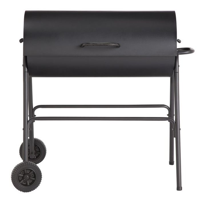 Best Price! Argos Home Charcoal Oil Drum BBQ Cover & Utensils