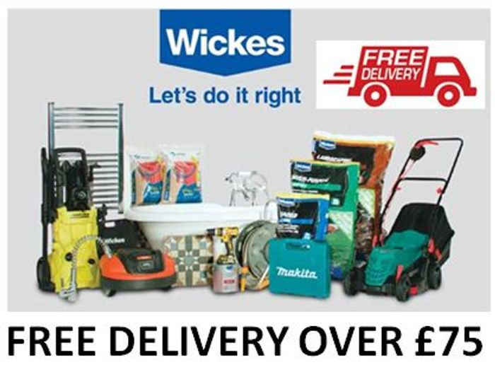 Are You Decorating? Doing DIY? Gardening? WICKES DO FREE DELIVERY over £75