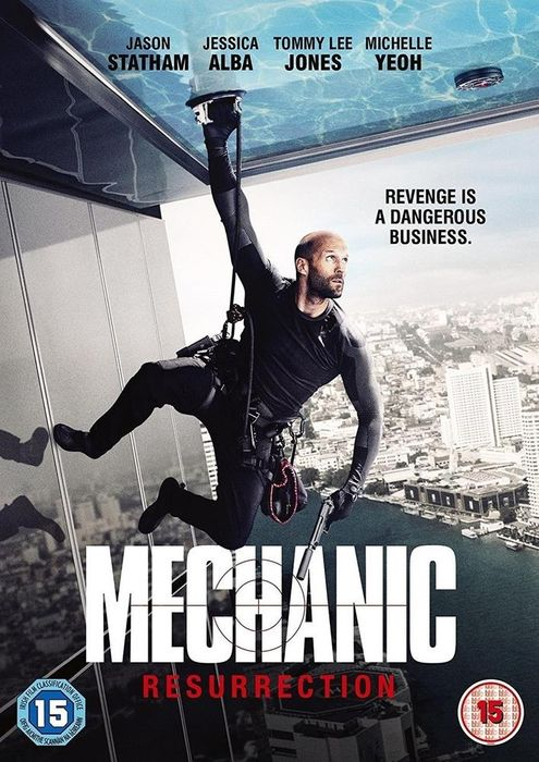 The Mechanic: Resurrection DVD on Sale From £6.99 to £2.99