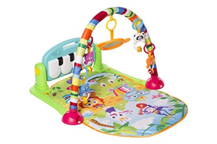 MooToys Kick and Play Newborn Toy with Piano for Baby 1 - 36 Month,
