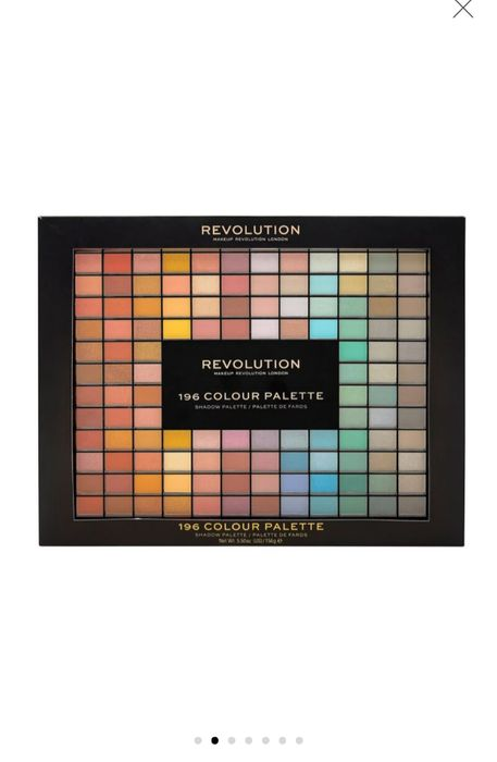 Large 196 Colours Eyeshadow Palette from Revolution