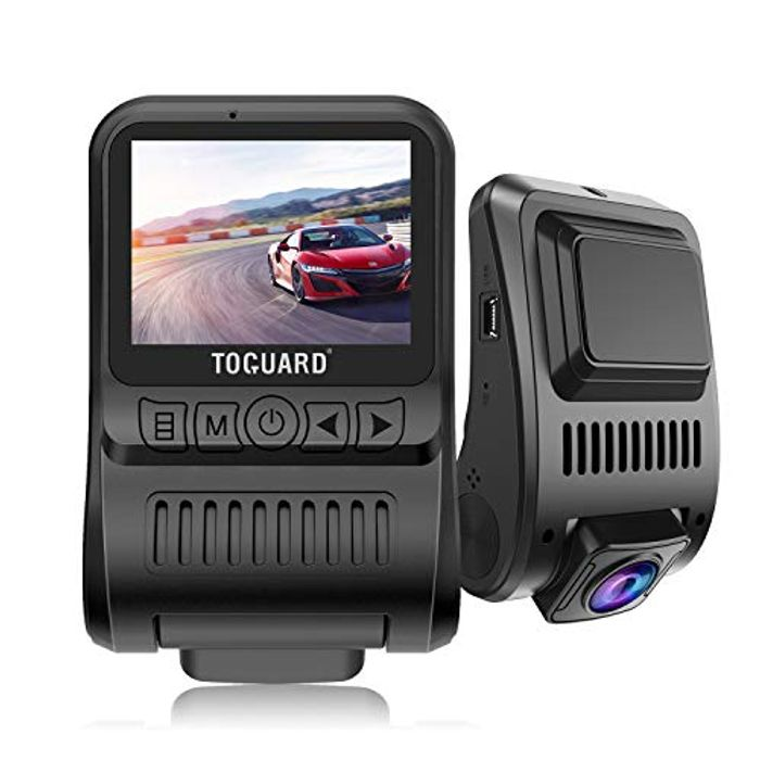 Best Price! TOGUARD Dash Cam 4K 3840x2160P GPS Dashboard Dash Camera