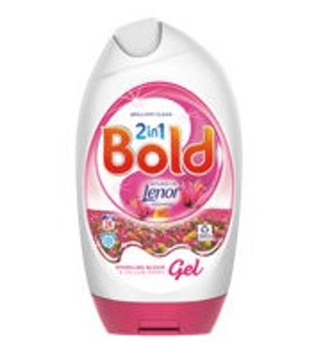 Bold 2in1 Washing Gel Sparkling Bloom & Yellow Poppy 24 Washes