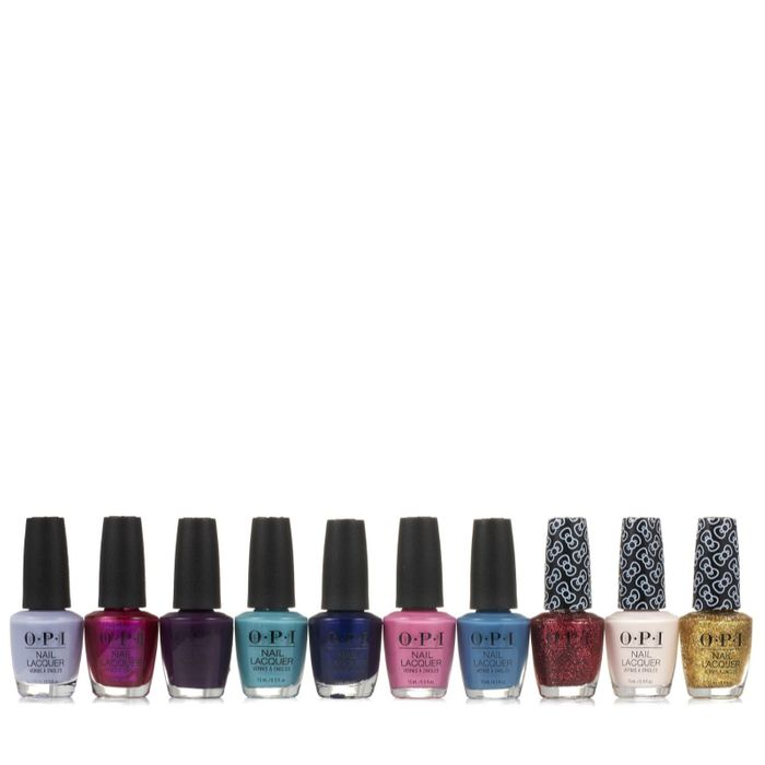 OPI 10 Piece Lacquer Collection
