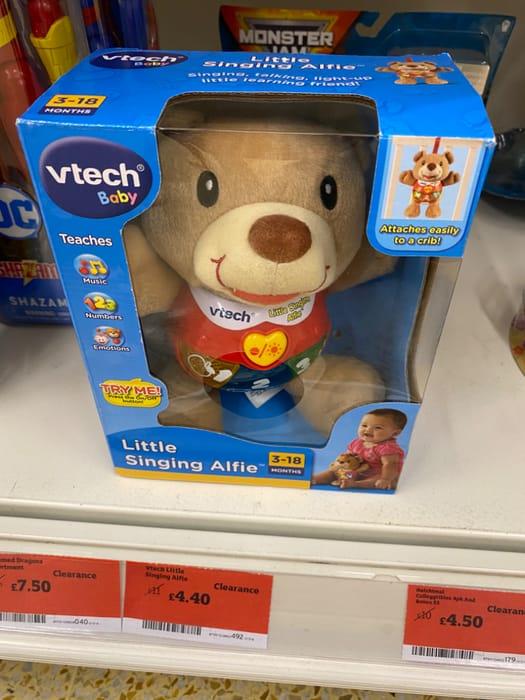 V-Tech Little Singing Alfie