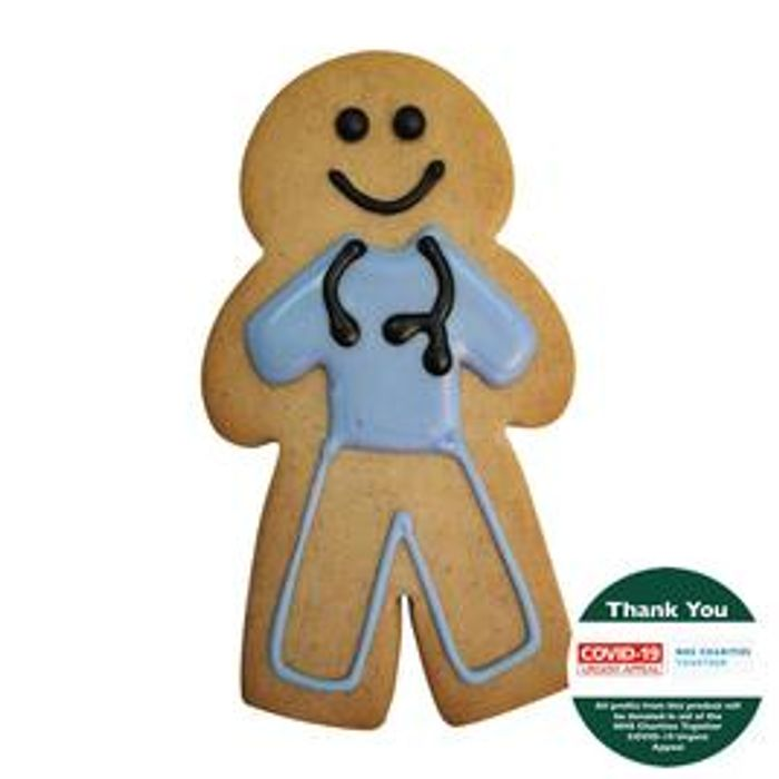 Cheap Morrisons NHS Hero Gingerbread Biscuit 60g - Only £1!