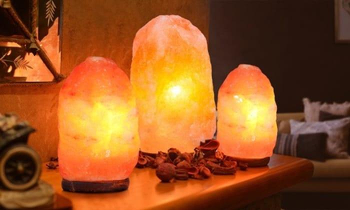 Cheap Himalayan Crystal Salt Lamp at Groupon