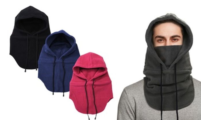 One or Two Thermal Balaclava Outdoor Winter Masks
