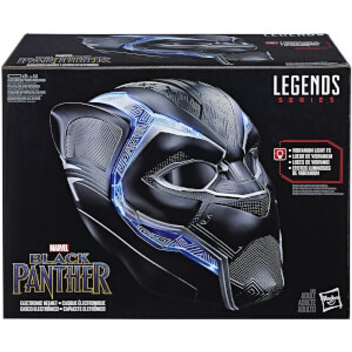 CHEAP! Hasbro Marvel Legends Series Black Panther Wearable Electronic Helmet
