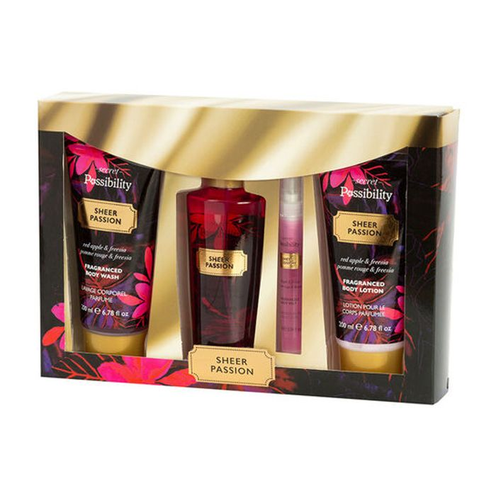 Special Offer - Possibility Secret Black Possibility Bath & Body Gift Set