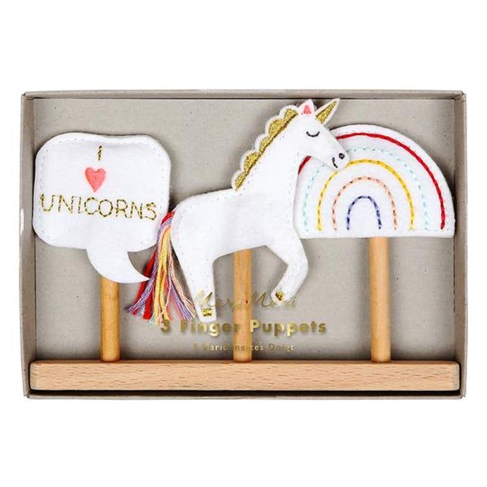 Unicorn Finger Puppets