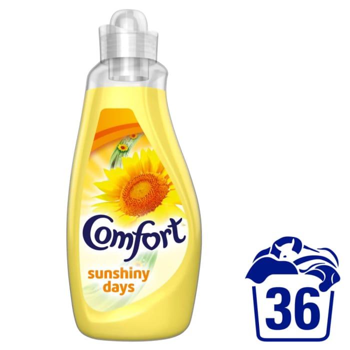 Comfort Sunshiny Days Fabric Conditioner 36 Washes 1.26L