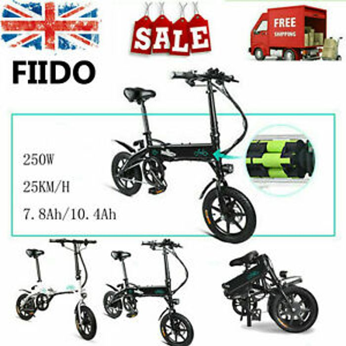 Fiido D1 Folding Electric City E Bike 10 4ah 250w 25km H Bike M4d0 449 99 At Ebay Latestdeals Co Uk
