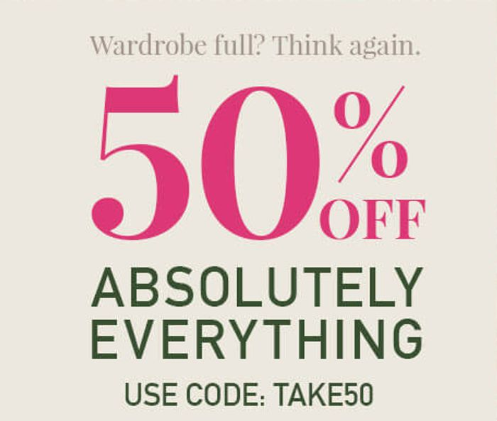 50% off Everything (For Limited Time Only) at Yumi