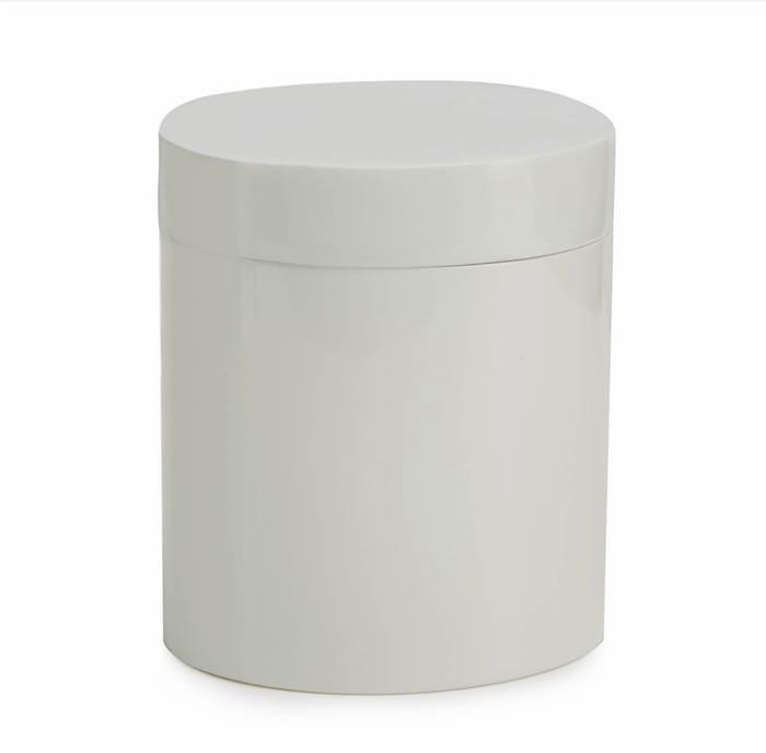 J by Jasper Conran - White Resin Storage Pot