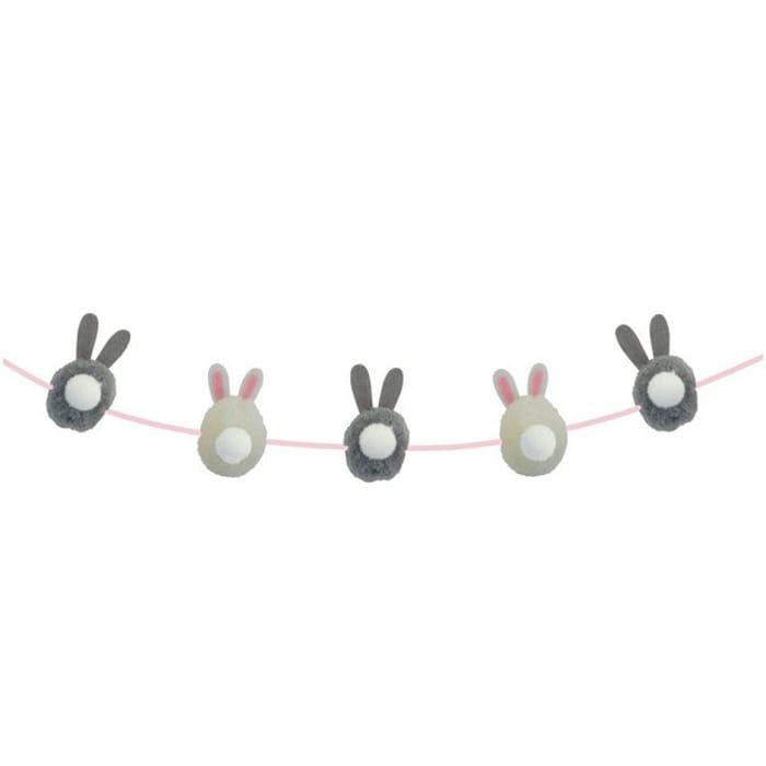 Pompom Bunny Garland Down to £1.50
