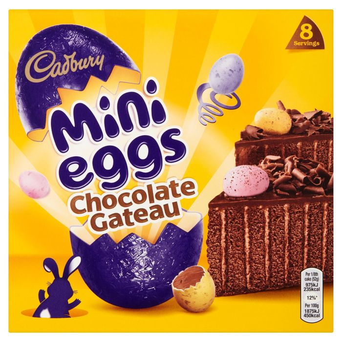 Cadbury Mini Eggs Chocolate Gateau - HALF PRICE