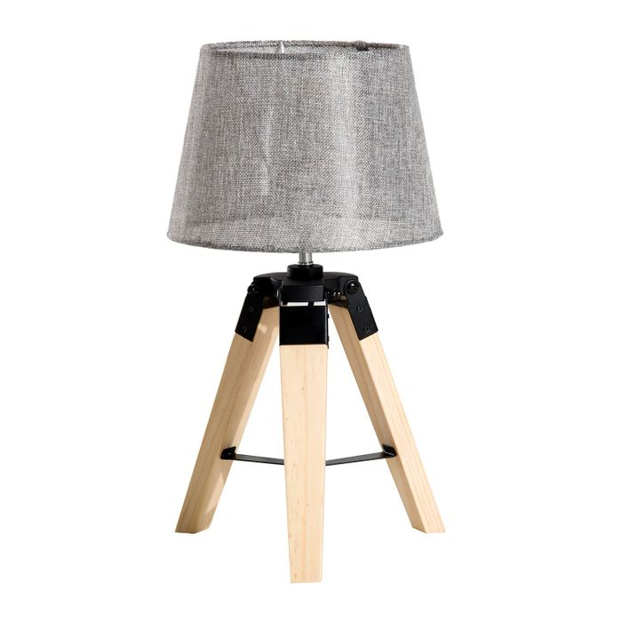 Cheap HOMCOM Tripod Table Lamp-Grey - SAVE £43