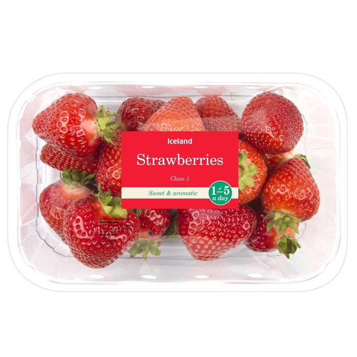 Iceland Strawberries 400g