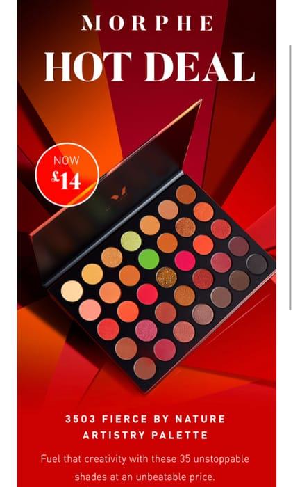 Morphe 3503 Palette Only £14