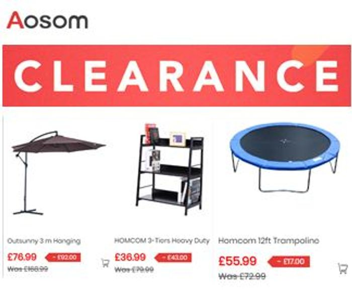 AOSOM CLEARANCE - Garden & Outdoor / Office / Home Goods