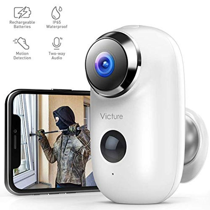 1080P Outdoor Rechargeable Battery Security Camera